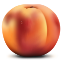 128x128px size png icon of Peach