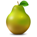 128x128px size png icon of Pear