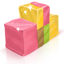 128x128px size png icon of Marmalade Cubes