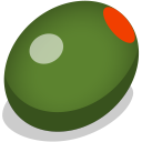128x128px size png icon of olive