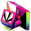 128x128px size png icon of Folder Computer