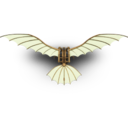 128x128px size png icon of DaVinci Flying Machine
