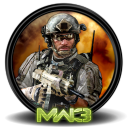 128x128px size png icon of CoD Modern Warfare 3 3a