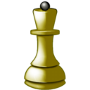 128x128px size png icon of White queen