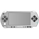 128x128px size png icon of PSP silver