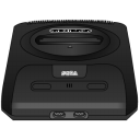 Sega Genesis black Icon