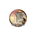 128x128px size png icon of Alpha