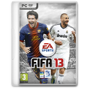 128x128px size png icon of fifa 13