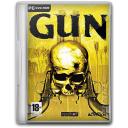128x128px size png icon of gun