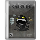 128x128px size png icon of Gish