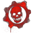 128x128px size png icon of Gears of War Skull 2