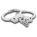 128x128px size png icon of Hand Cuffs