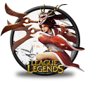 128x128px size png icon of Akali Blood Moon