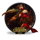 128x128px size png icon of Akali Crimson