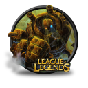 128x128px size png icon of Blitzcrank Chinese Artwork