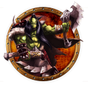 128x128px size png icon of wow orc