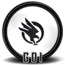 128x128px size png icon of Command Conquer 3 TW new GDI 1