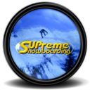 128x128px size png icon of Supreme Snowboarding 1