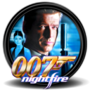 128x128px size png icon of James Bond 007 Nightfire 1