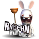 128x128px size png icon of Rayman Raving Rabbids 1