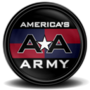 128x128px size png icon of Americas Army 2