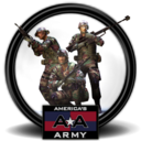 128x128px size png icon of Americas Army 3