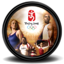 128x128px size png icon of Beijing 2008 1