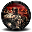 128x128px size png icon of Brothers in Arms Hells Highway new 6
