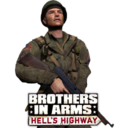 128x128px size png icon of Brothers in Arms Hells Highway new 8