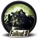128x128px size png icon of Fallout 3 new 1