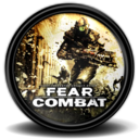 128x128px size png icon of Fear Combat new 1