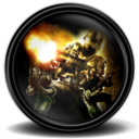 128x128px size png icon of Fear Combat new 2