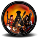 128x128px size png icon of Guitar Hero III 1