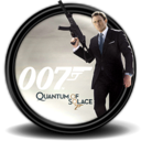 128x128px size png icon of 007 Quantum of Solace 1