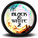 128x128px size png icon of Black White 2 1