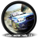 128x128px size png icon of Colin McRae Rally 2 0 2