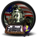 128x128px size png icon of Fallout 2 1