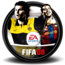 128x128px size png icon of Fifa 08 1