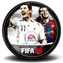 128x128px size png icon of Fifa 08 2