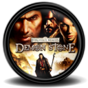 128x128px size png icon of Forgotten Realms Demon Stone 1