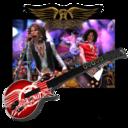 128x128px size png icon of Guitar Hero Aerosmith 2