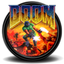 128x128px size png icon of Doom 1