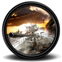 128x128px size png icon of Silent Hunter 4 U Boat Missions 2