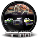 128x128px size png icon of Trackmania Extended Version 1