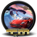 128x128px size png icon of Trackmania Sunrise Extreme 1