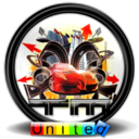 128x128px size png icon of Trackmania United 1