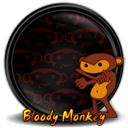 128x128px size png icon of Bloody Monkey 1