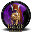 128x128px size png icon of Rome Total War Alexander 1