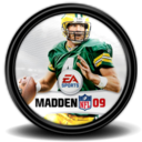 128x128px size png icon of Madden NFL 09 1