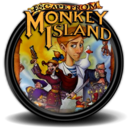 128x128px size png icon of Escape from Monkey Island 1